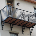 Fabircation Metal Balcony