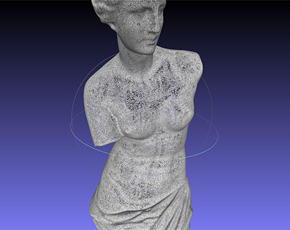 Seattle-3d-scanning-Venus-as-Mesh1-1