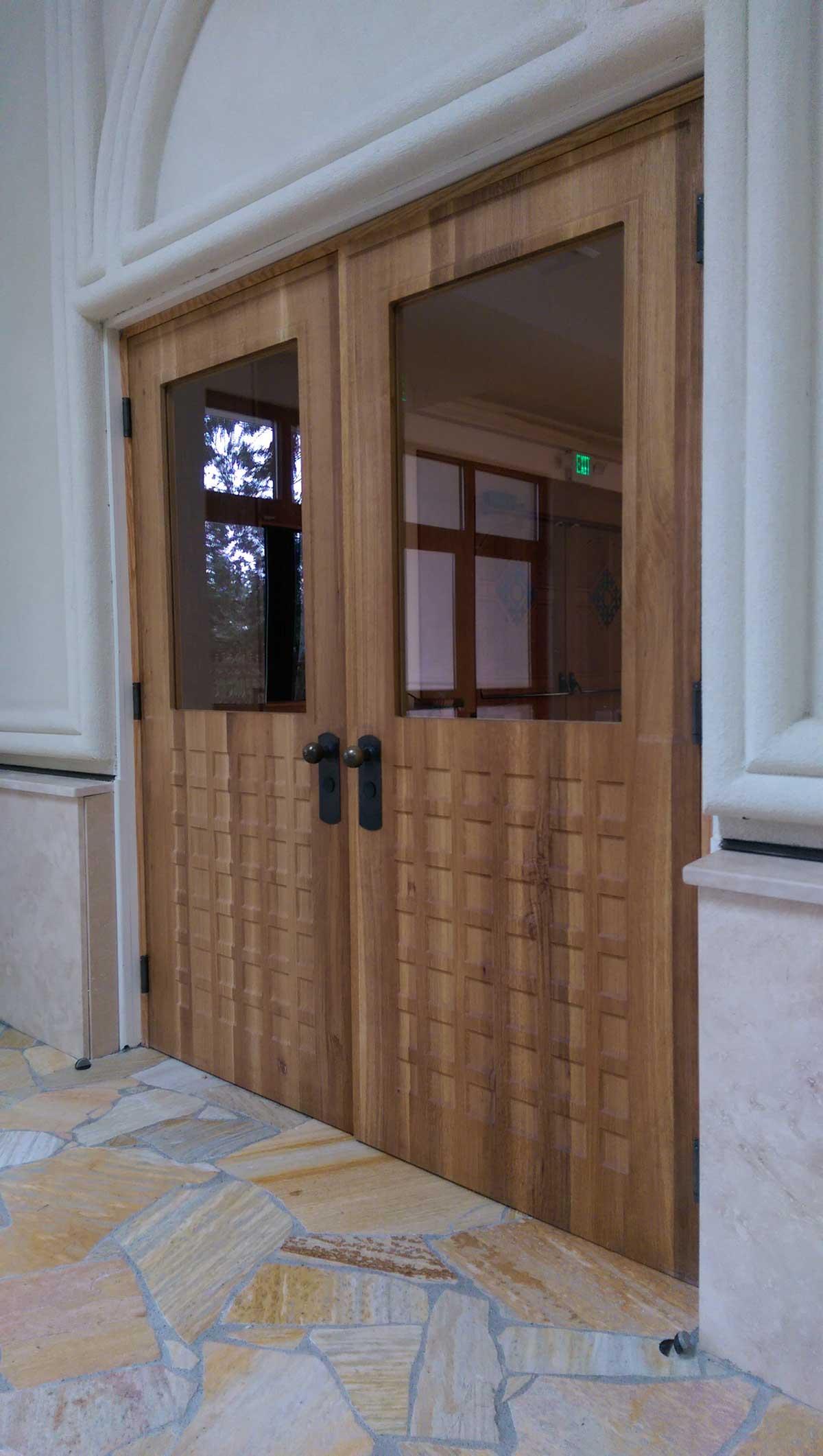 seattle-Custom-oak-doors-1