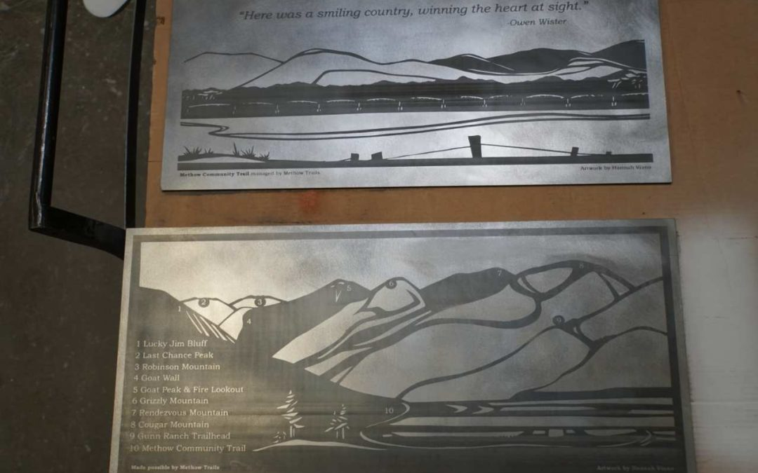Images- Etching on Metal- Seattle
